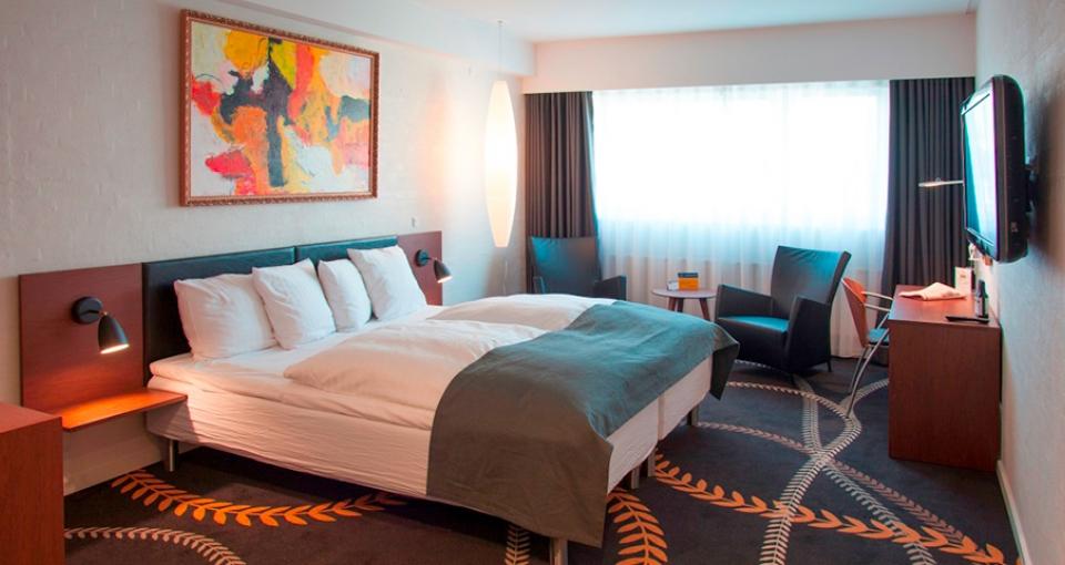 Eksempel på dobbeltværelse på Best Western Plus Hotel Eyde.