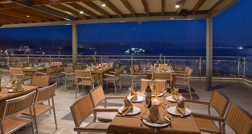 Restauranten på Hotel John & George.