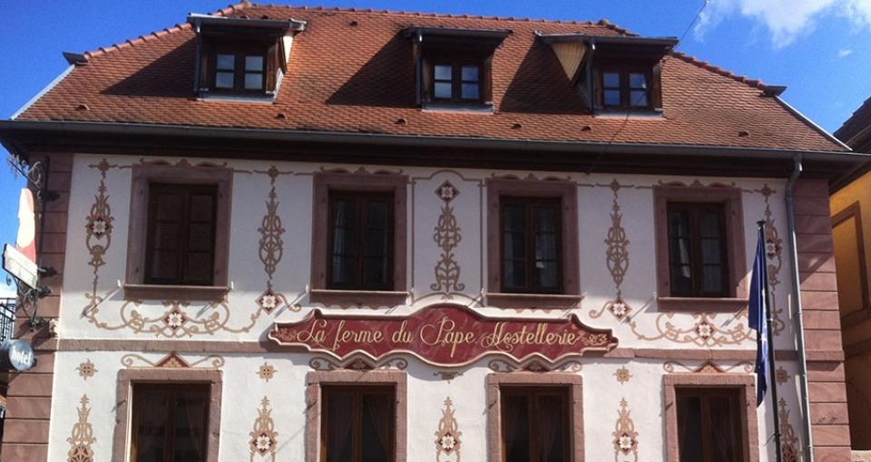 Velkommen til Hotel La Ferme du Pape.