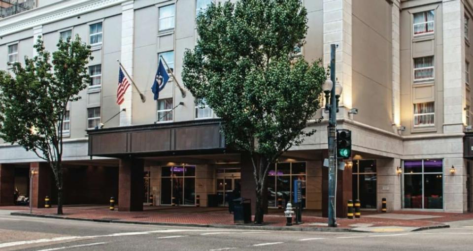 Hotel La Quinta Inn i New Orleans.