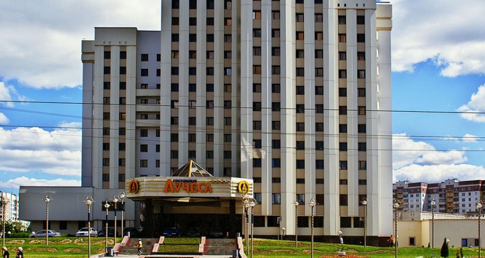 Hotel Luchesa i Vitebsk.