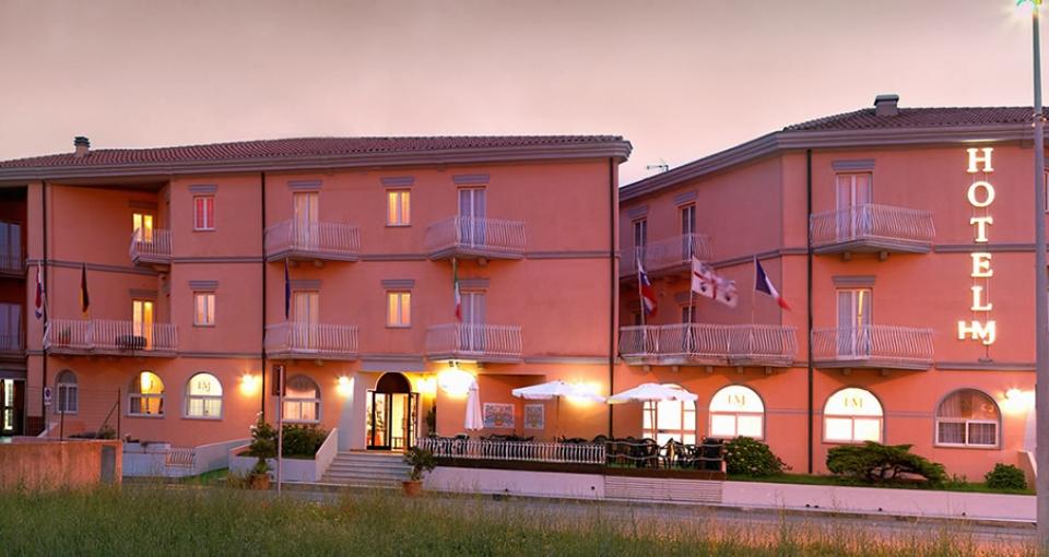 Velkommen til Hotel Majore.