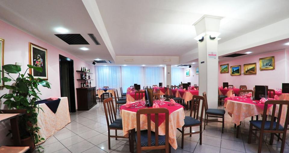 Restauranten på Hotel Majore.