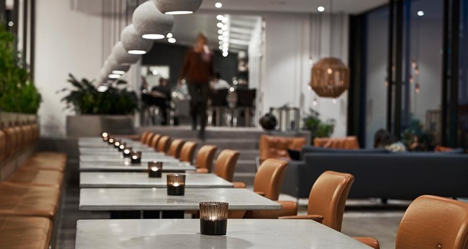 Restauranten på Hotel Oasia.