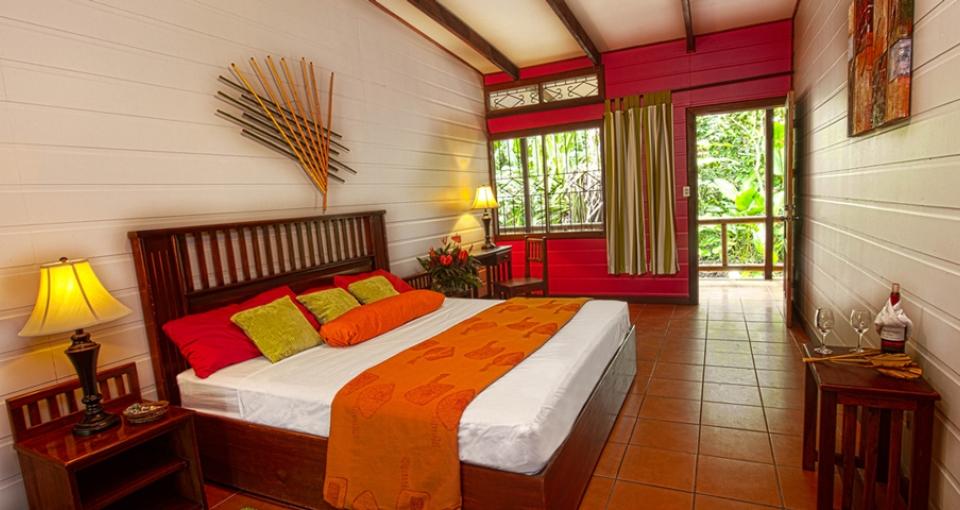 Standardværelse på Pachira Lodge.