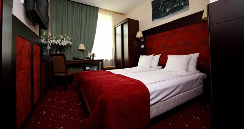 Eksempel på dobbeltværelse på Rixwell Old Riga Palace.