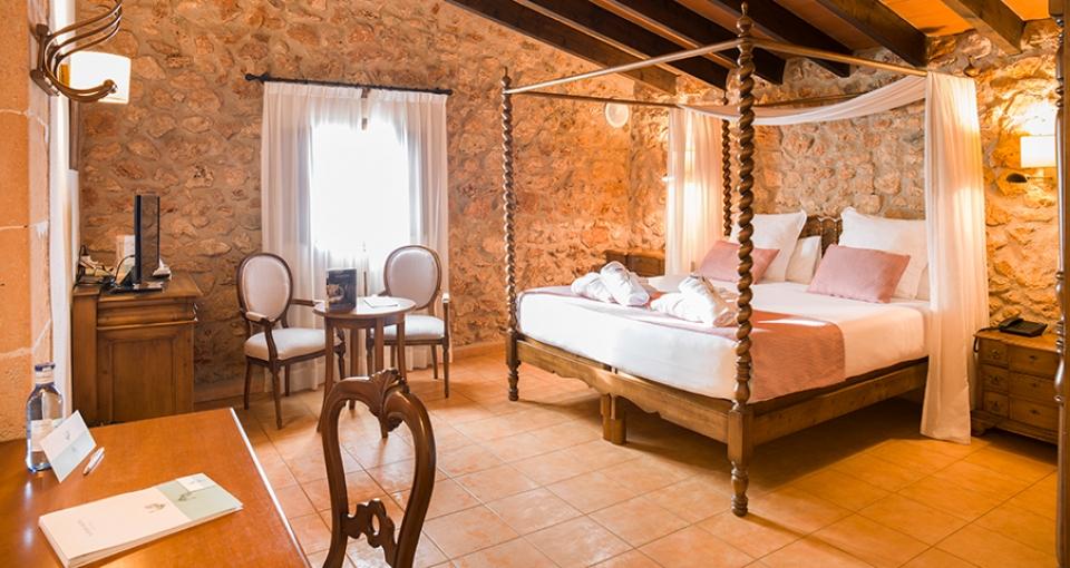 Standardværelse rustik på Sa Bassa Rotja.