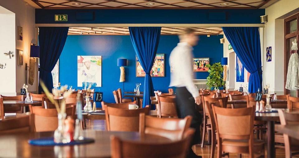 Restauranten på Hotel Svea.