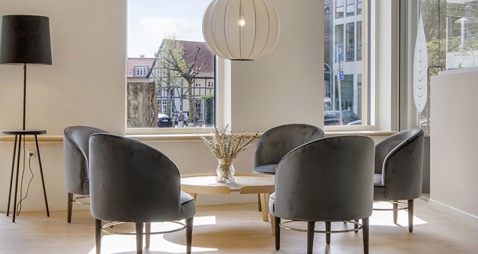 Fællesområde på Best Western Plus Hotel Svendborg.