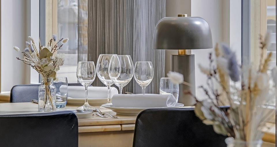 Restauranten på Best Western Plus Hotel Svendborg.