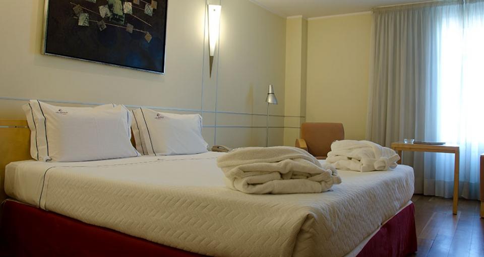 Eksempel på værelse på VIP Executive Entrecampos Hotel & Conference.