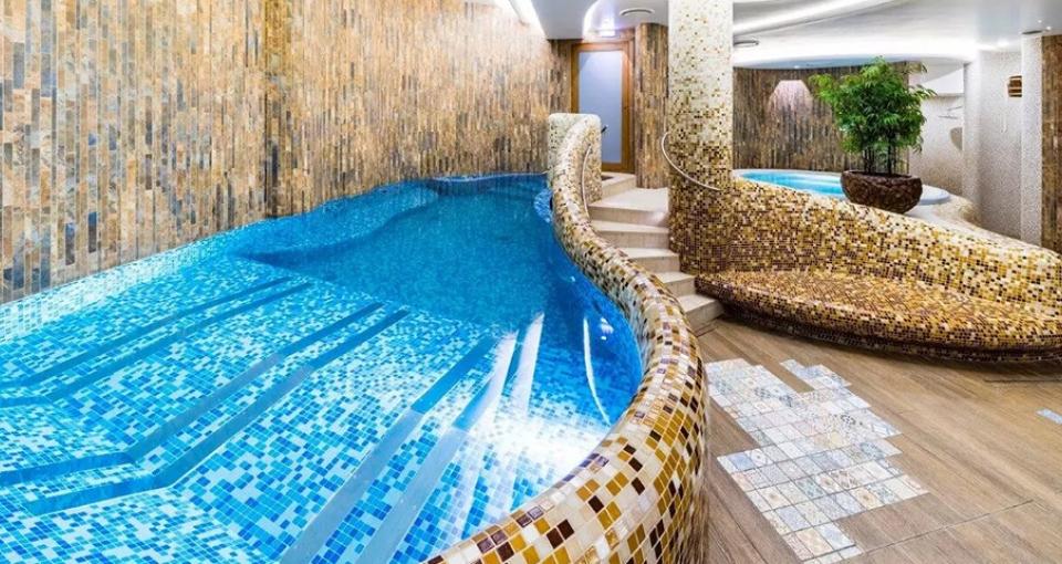 Spaafdelingen på Wellton Riga Hotel & Spa.