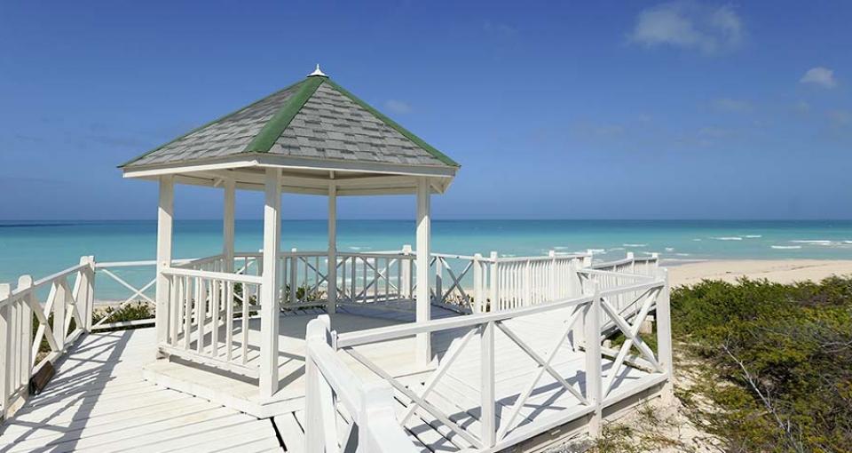 Stranden ved Hotel Starfish.