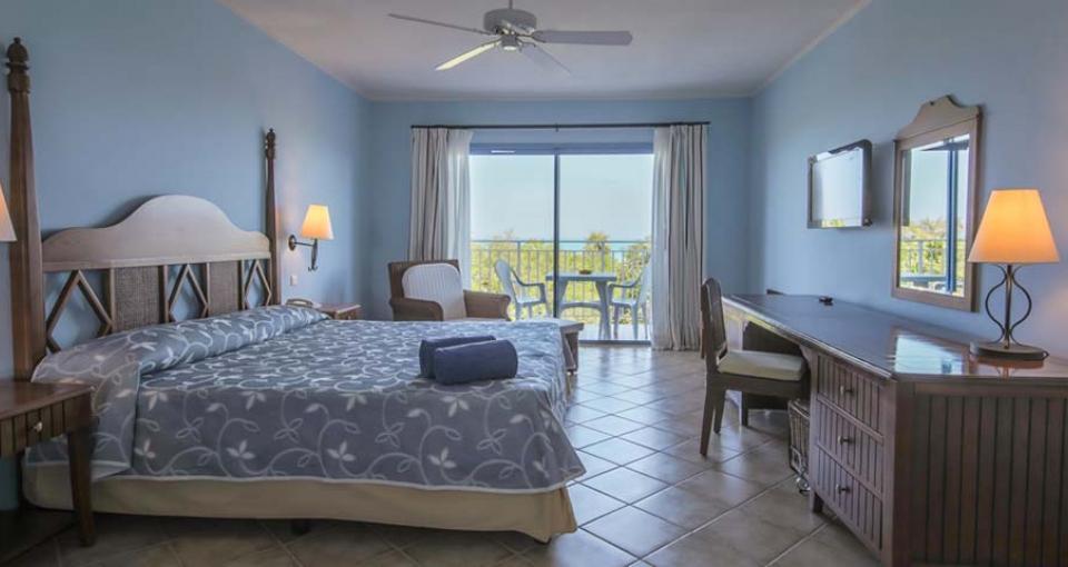 Eksempel på standard værelse på Hotel Starfish.