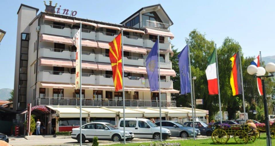 Hotel Tino set udefra.