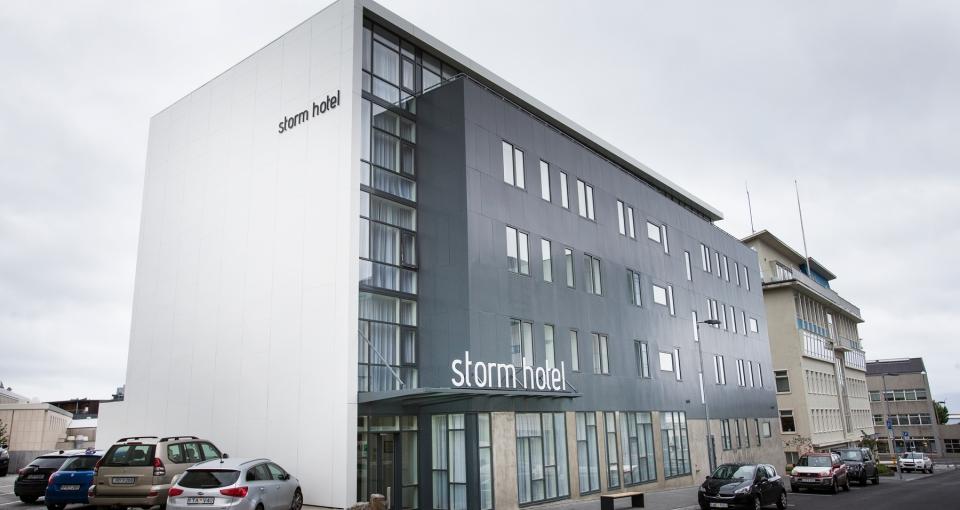 Storm Hotels facade.