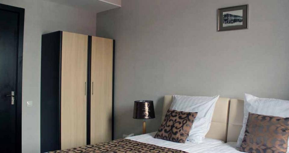 Eksempel på standardværelse på Hotel Oriental.