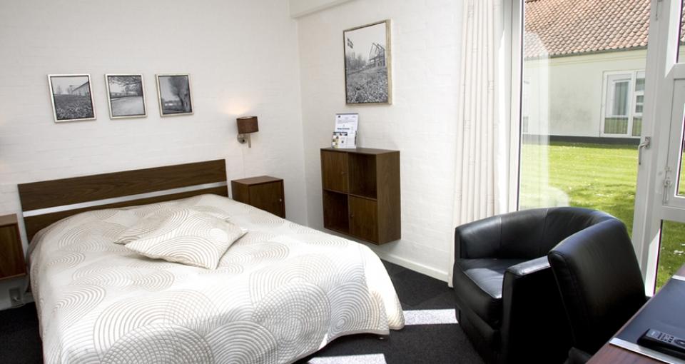 Eksempel på standardværelse på Best Western Golf Hotel Viborg.