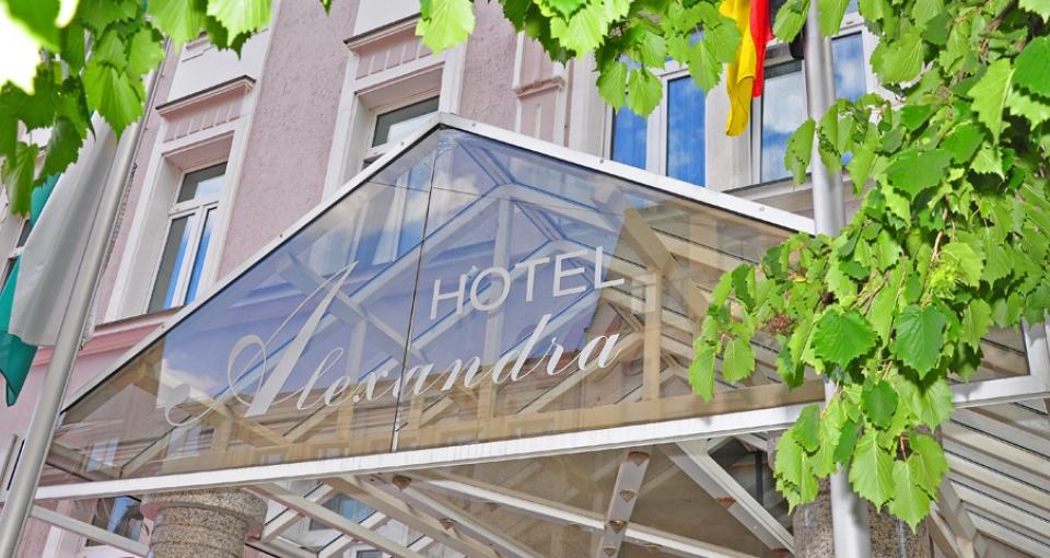 Hotel Alexandra Plauen.
