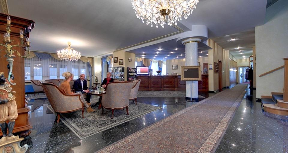 Lobbyen på Hotel Alexandra Plauen.