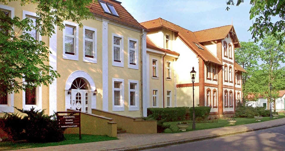Parkhotel Pretzsch ved Elben.