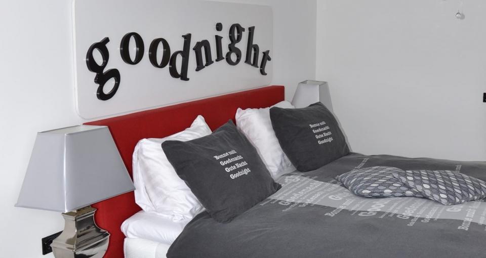 Goodnight! Mon ikke man sover godt efter en dag fyldt med blomstrende oplevelser?