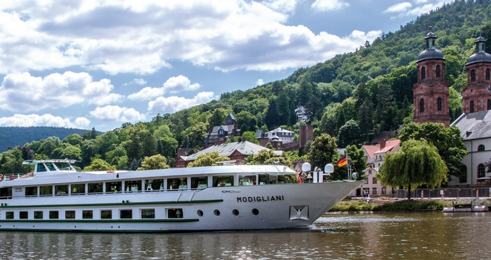Det 4-stjernede skib MS Modigliani.