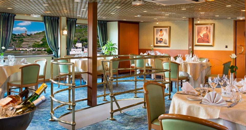 Restauranten på MS Modigliani.
