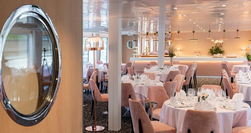 Restauranten på MS Renoir.