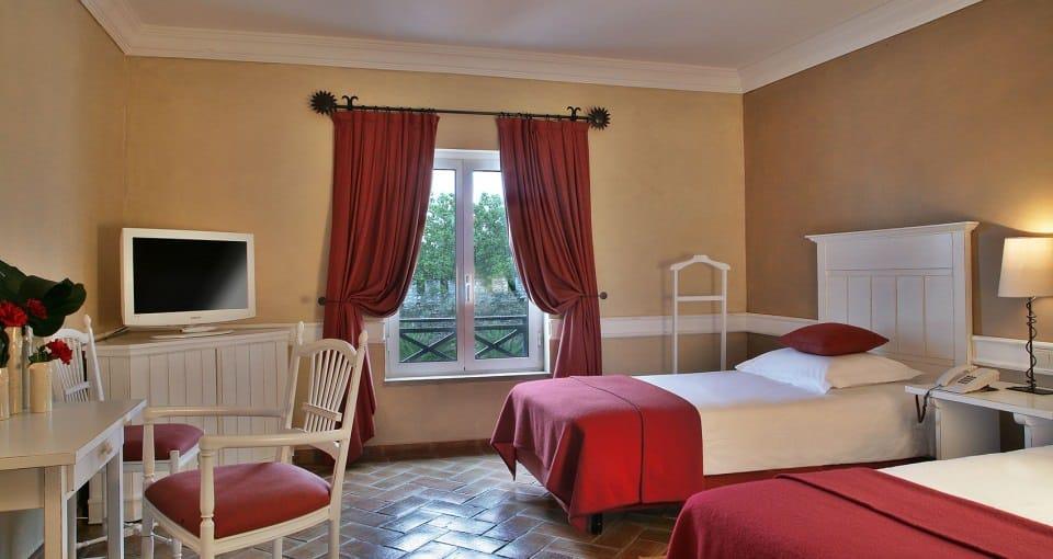 Hotel Muralhas - Eksempel på et standardværelse.