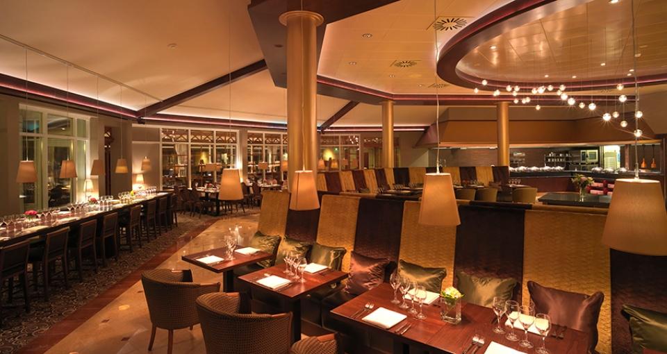 Restauranten på Naantali Spa Hotel.