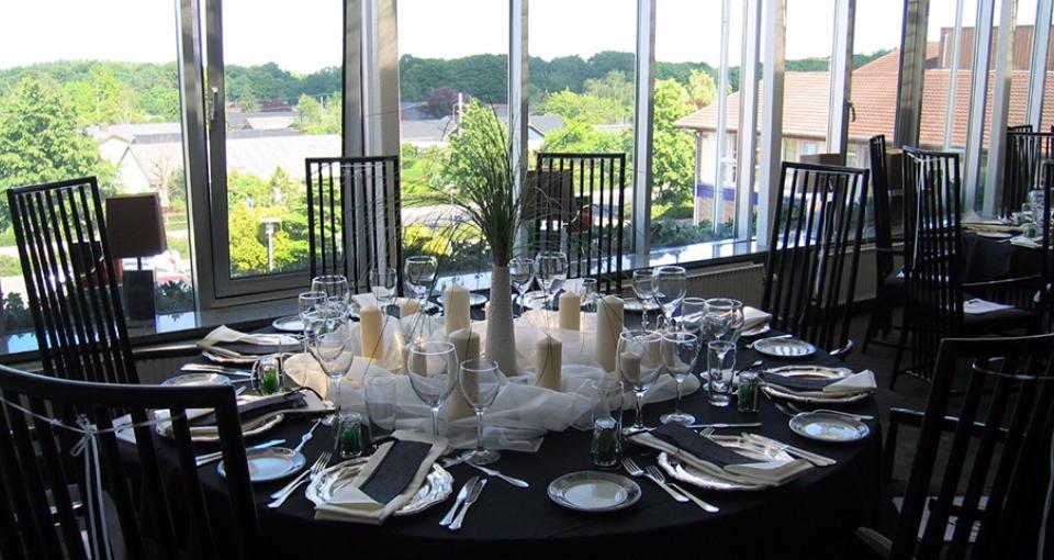 Panoramarestauranten på Hotel Pejsegården.