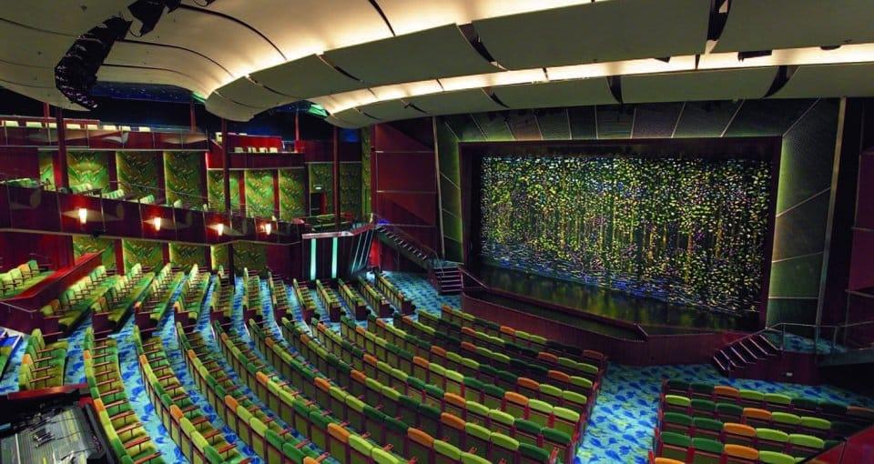 Det store teater på Serenade of the Seas.
