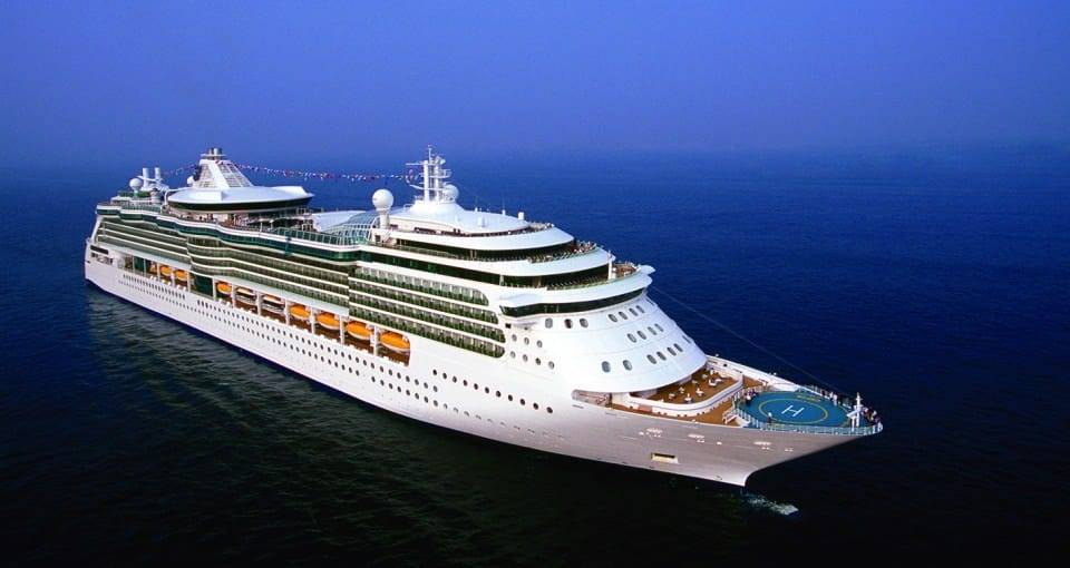 Serenade of the Seas.