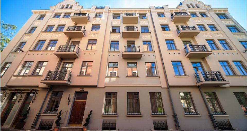Hotellets facade.