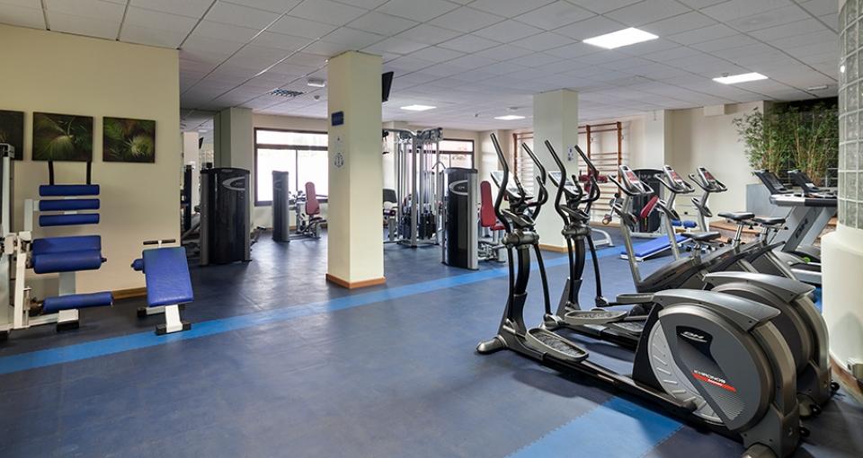 Fitnessrum på Best Hotel Triton.