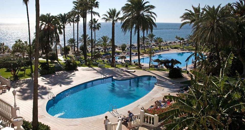 Best Hotel Triton ligger dejligt ud til Middelhavet.