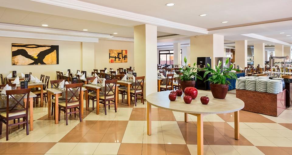 Restauranten på Best Hotel Triton.