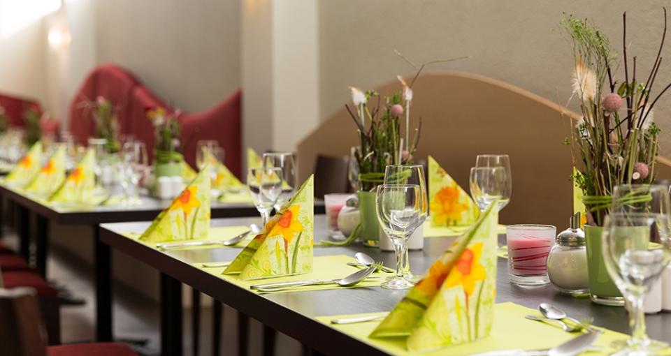 Restauranten på Ibis Hotel Dresden Zentrum.