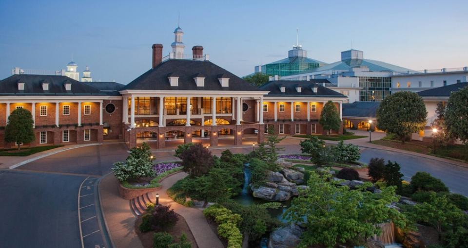Gaylord Opryland Resort & Convention Center.