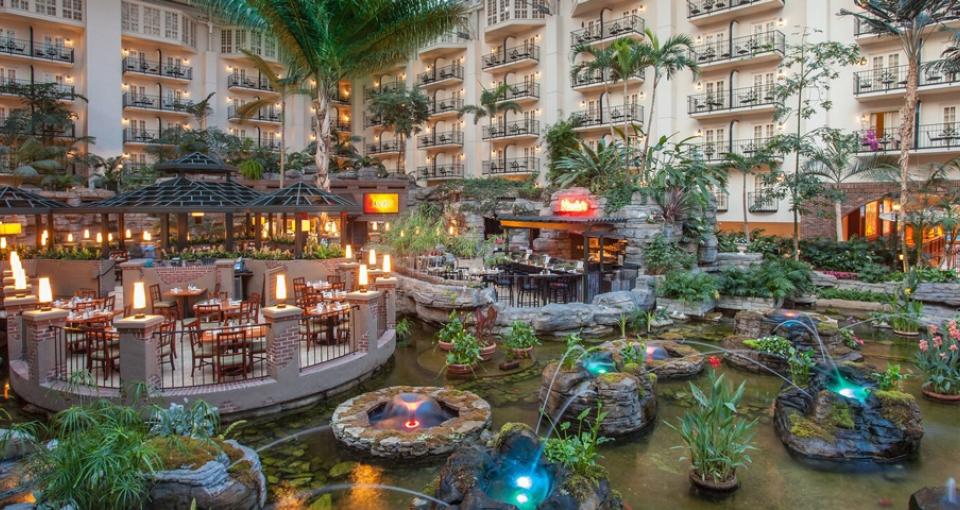 Atriumgården på Gaylord Opryland Resort & Convention Center.