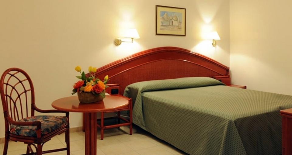 Standardværelse i Villa Rosa.
