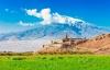 Ararat og klosteret Khor Virap.