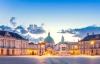 Amalienborg om vinteren.