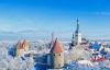 Danskerbyen Tallinn i smukke vinterklæder.
