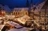 Torvet med julemarked i Goslar - Goslar Julemarked