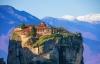 Meteora-klostrene i Grækenland.