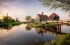 Giethoorn i Holland.
