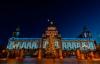 Juletræet ved rådhuset i Belfast.