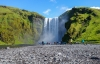 Skogafoss-vandfaldet i Island.